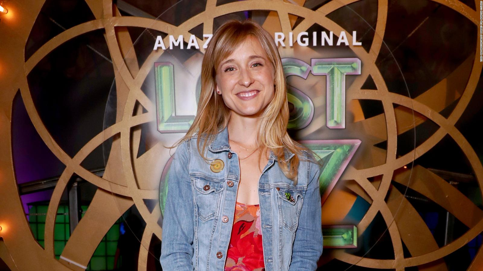 Allison Mack Porn Video actress charged with recruiting sex slaves