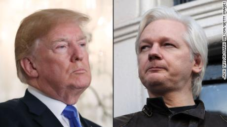 Trump in 2016: 'I love WikiLeaks,' Trump now: 'I know nothing about WikiLeaks'