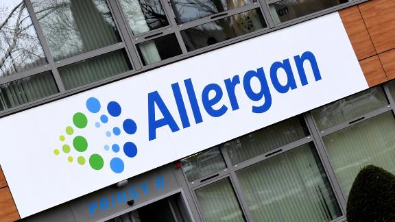 """A photo taken on November 7, 2017 shows the Allergan group headquarters in Pringy, eastern France.    New revelations on November 6, 2017 from the """"Paradise Papers"""" shed light on Apple"""