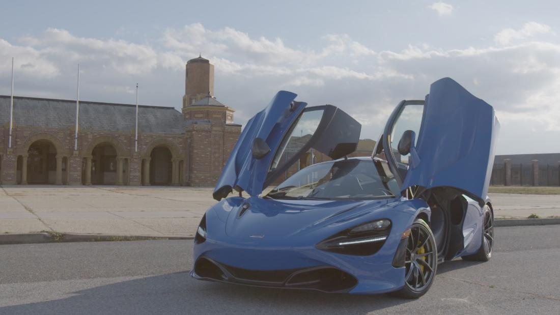 McLaren 720S is street-legal (for those who dare) - CNN Video