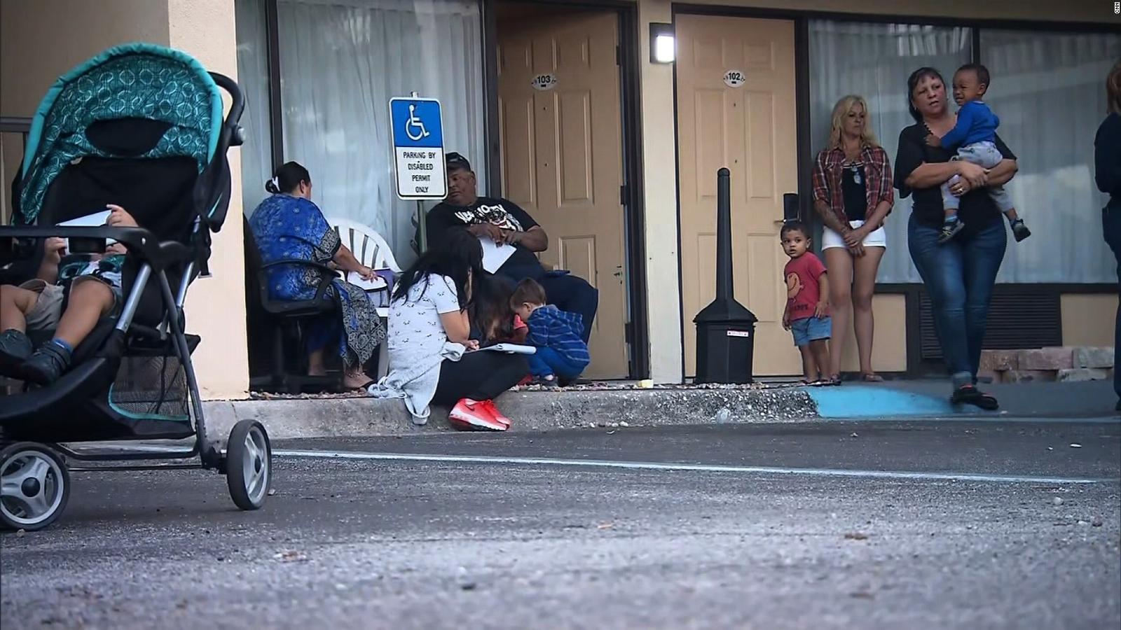 Hurricane Maria evacuees living in FL motels