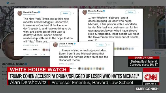 Trump tweets defense of Cohen, attacks others_00050229.jpg