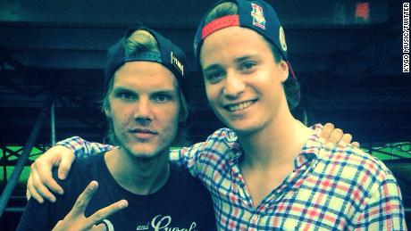 "Kygo wrote on Twitter: ""Just met my biggest inspiration! @Avicii"""