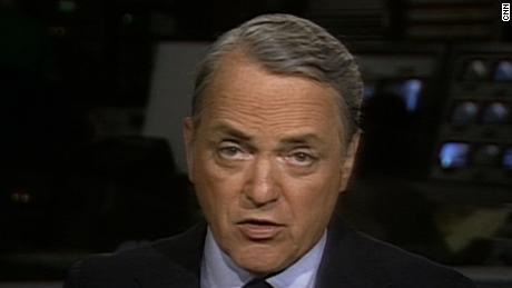 CNN Former anchor Reid Collins
