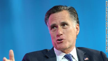 Mitt Romney says he'll make decision on supporting Trump in 2020 'down the road'