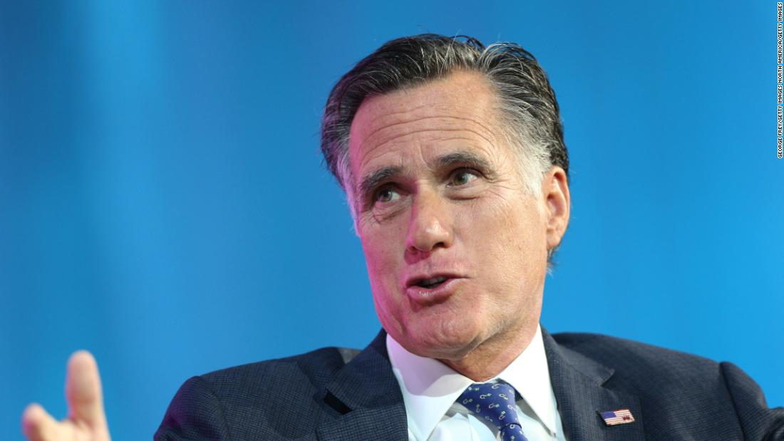 Romney: Family separations at border a 'dark chapter in American history'