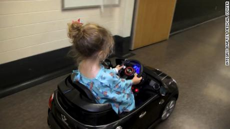 "title: INTEGRIS Children's Uses Remote Control Cars to Take Kids to Surgery duration: 00:02:27 site: Youtube author: null published: Fri Apr 20 2018 16:48:22 GMT-0400 (Eastern Daylight Time) intervention: no description: http://integrisok.com  Kids are racing through the halls of INTEGRIS Baptist Medical Center in new remote control cars. It's all part of an ongoing effort to make the hospital less intimidating to children.  The Delta Theta Chi sorority donated the cars to INTEGRIS Children's to help transport kids to surgery and other procedures. Ashley Ochs, M.A., CCLS, is a child life specialist at INTEGRIS. She says the idea is to make an otherwise scary situation more positive.  ""Traditionally kids would be wheeled into surgery either"
