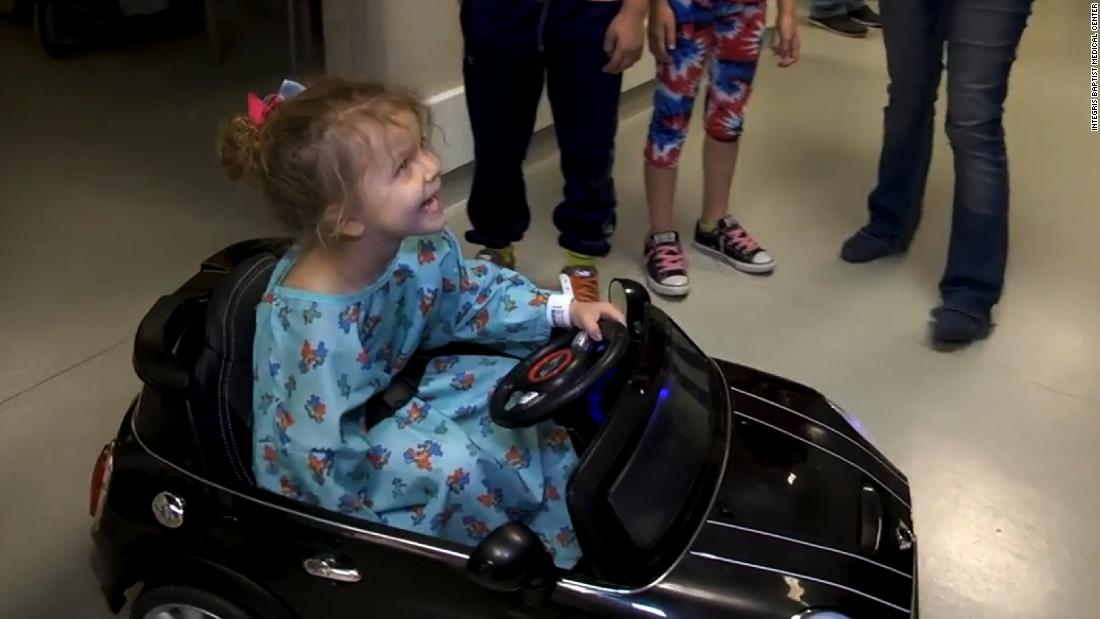 image of Hospital uses remote-controlled cars for kids