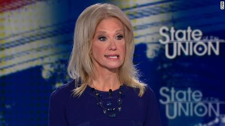 Conway won't say whether Trump is in legal trouble