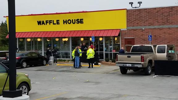 The four young people killed on April 22 include three patrons and one Waffle House employee.