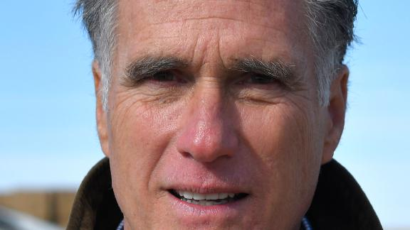 OGDEN, UT - FEBRUARY 16: Candidate for senate Mitt Romney tours Gibson's Green Acres Dairy on February 16, 2018 in Ogden, Utah. Mr. Romney is running for a U.S. Senate seat from Utah, currently held by Sen. Orrin Hatch, who announced his retirement after the current term expires. (Photo by Gene Sweeney Jr./Getty Images)