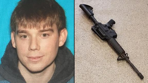 Travis Reinking is accused of using this assault-style rifle to shoot people at a Waffle House.
