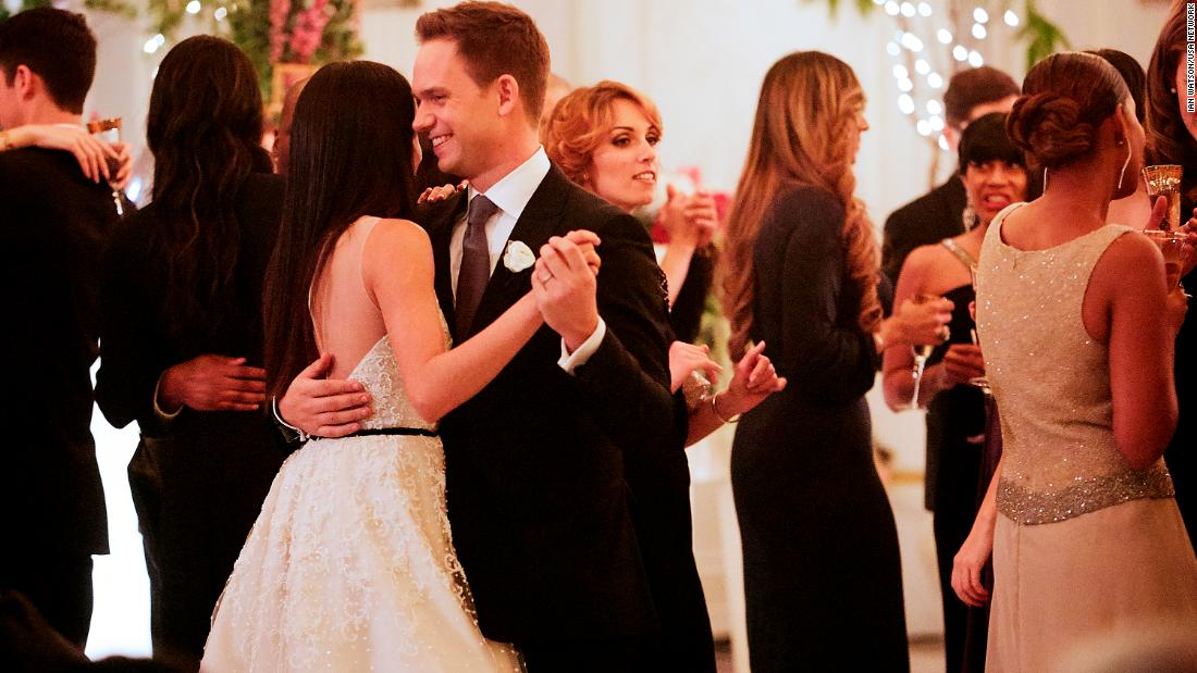 Meghan Markle exits 'Suits' with a wedding