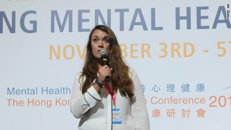 Hannah Reidy is CEO of the new charity Mind HK.