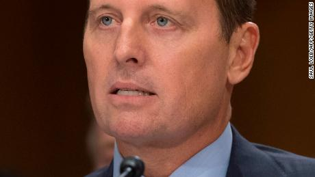 Richard Grenell, nominee to be US ambassador to Germany, testifies during a Senate Foreign Relations Committee hearing on Capitol Hill in Washington, DC, September 27, 2017. (SAUL LOEB/AFP/Getty Images)