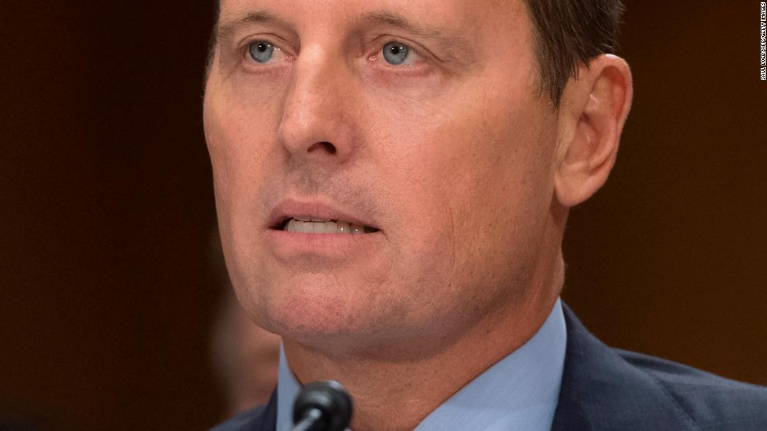 Current Status: Trump names staunch loyalist and current US Ambassador to Germany Richard Grenell as acting intelligence chief