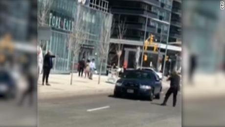 Video shows tense arrest in Toronto