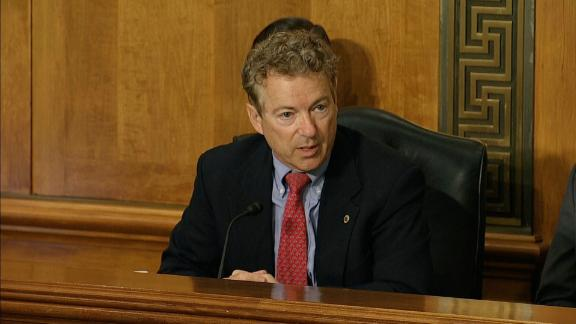 Sen. Rand Paul, Mike Pompeo nomination vote