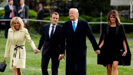 Macron hopes Trump relationship can help make France great again