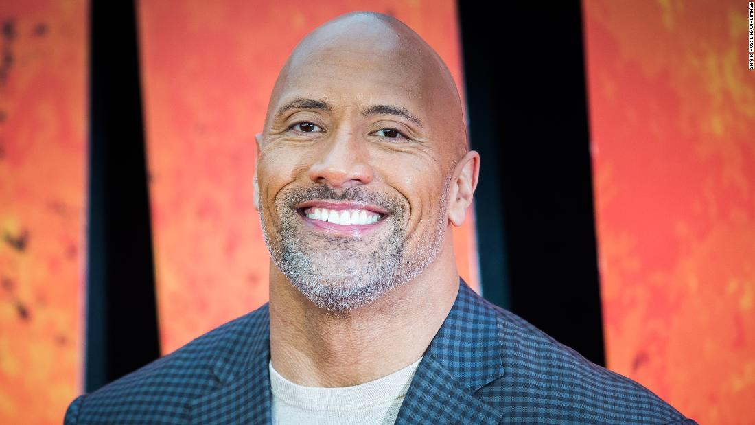 Dwayne Johnson is now a doting dad of three girls