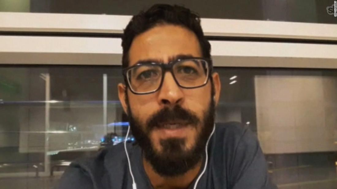 He was stranded for 7 months in a Malaysian airport. Here's how this Syrian refugee spent his first days of freedom