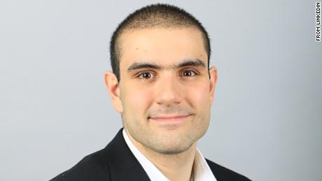 Alek Minassian, as seen in his LinkedIn profile photo.
