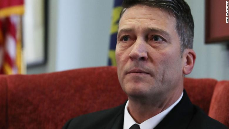 Ronny Jackson is no longer Trump's doctor
