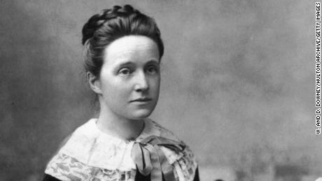 British feminist and suffragist Millicent Fawcett, who died in 1929.