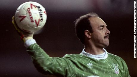 21 Mar 1990:  Portrait of Liverpool Goalkeeper Bruce Grobbelaar during a Barclays League Division One match against Tottenham Hotspur at White Hart Lane in London. Tottenham Hotspur won the match 1-0. \ Mandatory Credit: Ben  Radford/Allsport