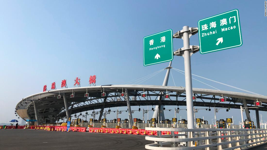 The Hong Kong-Zhuhai-Macau Bridge will connect a relatively small city on the Chinese mainland with the two Special Administrative Regions of Hong Kong and Macau. It will slash journey times between the three cities from three hours to 30 minutes, putting them all within an hour's commute of each other.