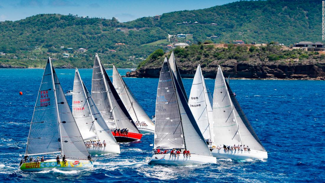 Antigua Sailing Week is based out of English Harbour on the south coast of the island and will feature daily races plus a Round Antigua race.