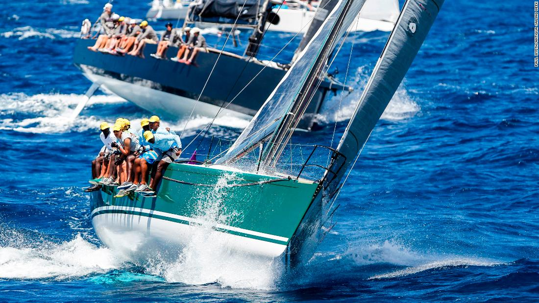 Antigua sailor Sir Hugh Bailey's Team Rebel is a past winner of the Lord Nelson Trophy.