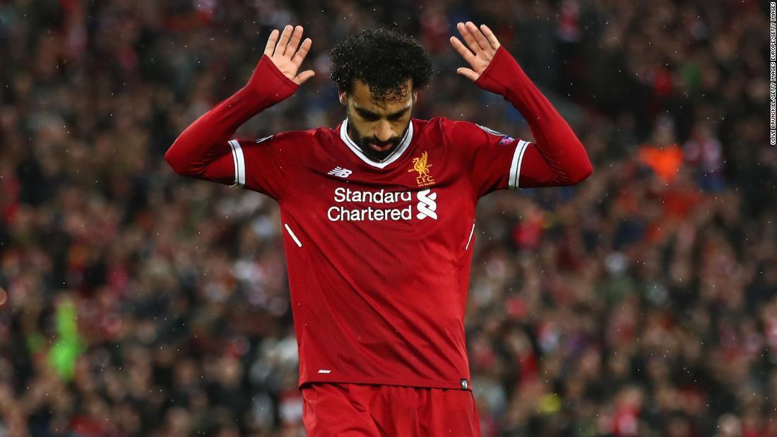 Image result for Mohamed Salah vs ROMA