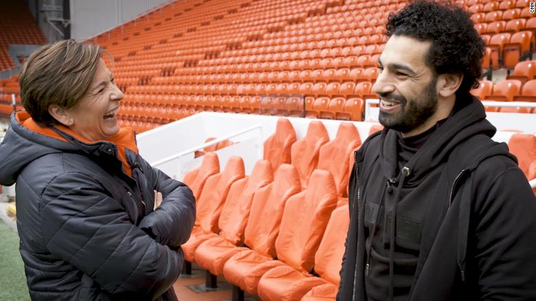 Salah: Gerrard is my favorite Liverpool player