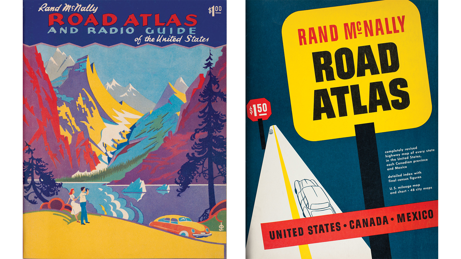 rand mcnally vintage atlases map the great american road trip cnn