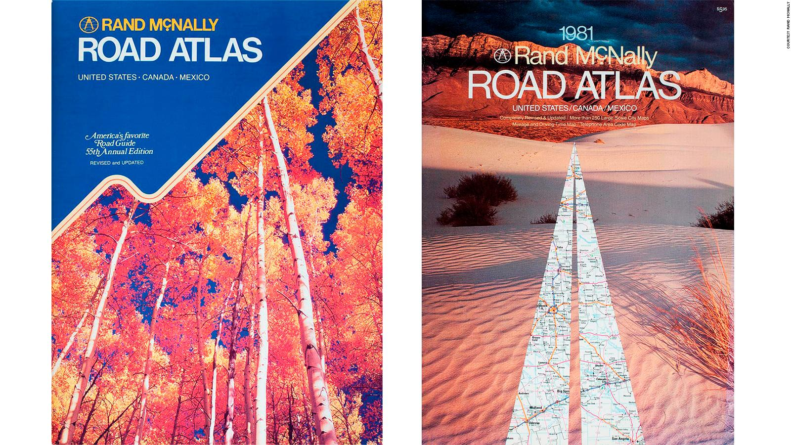 Rand McNally vintage atlases map the great American road trip | CNN ...