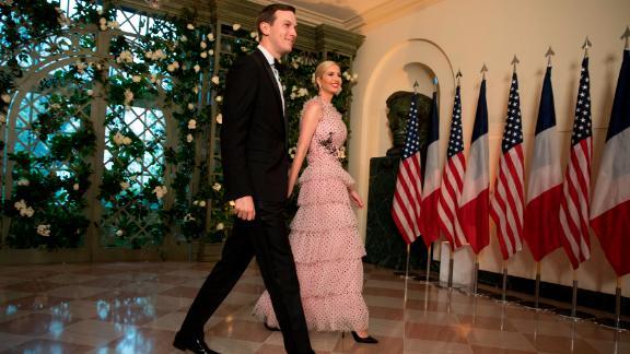 Jared Kushner and Ivanka Trump.
