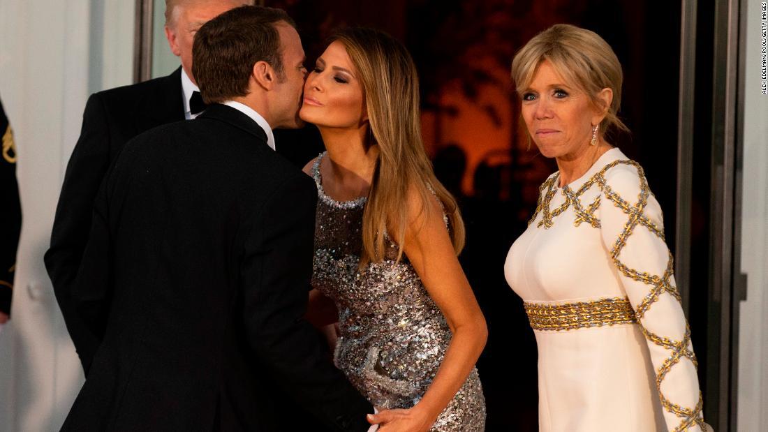 Melania Trump masters the moment