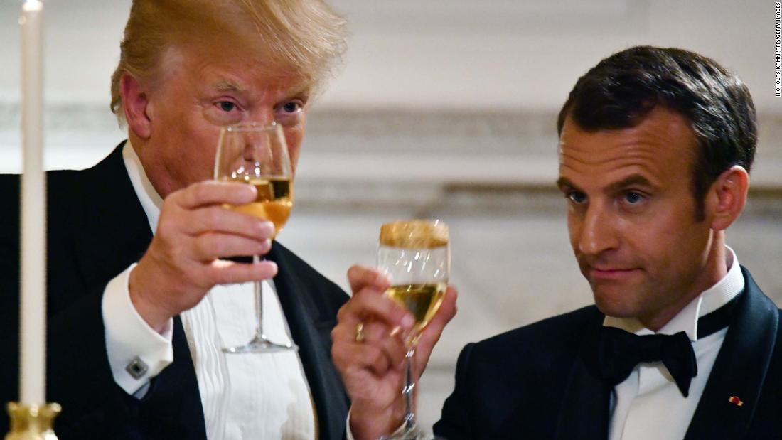 07bbc39bfaee Macron concedes it s going to take more work to keep Trump in Iran nuclear  deal