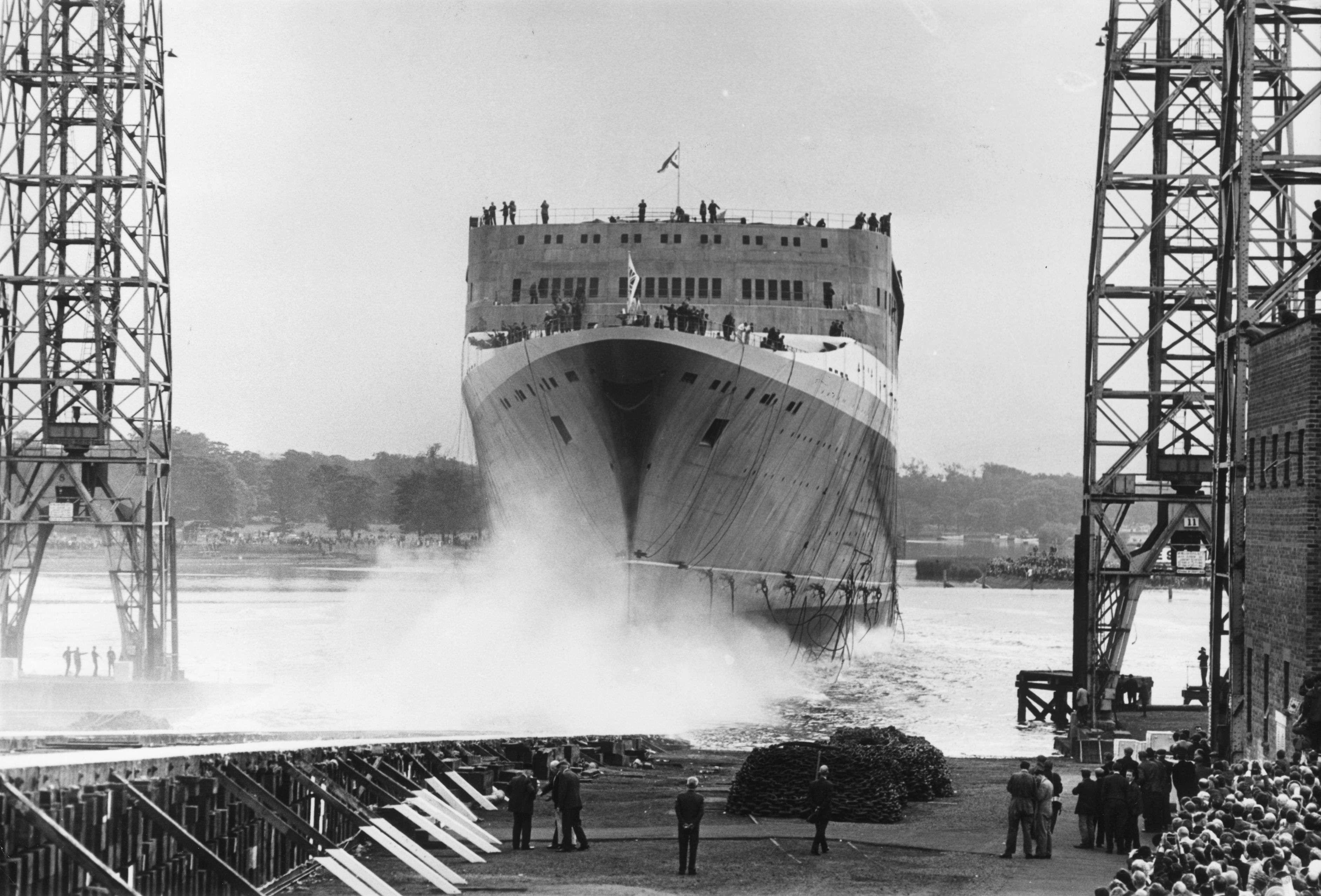Image result for QE2 launch