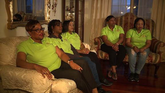 Police were called on these five woman for golfing too slow at Grandview Golf Course last week in Pennsylvania.