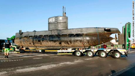 Madsen's submarine was removed from Copenhagen habor for forensic investigation in the days after Wall disappeared.