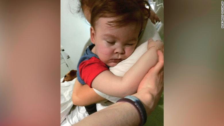 Court won't let sick toddler leave country