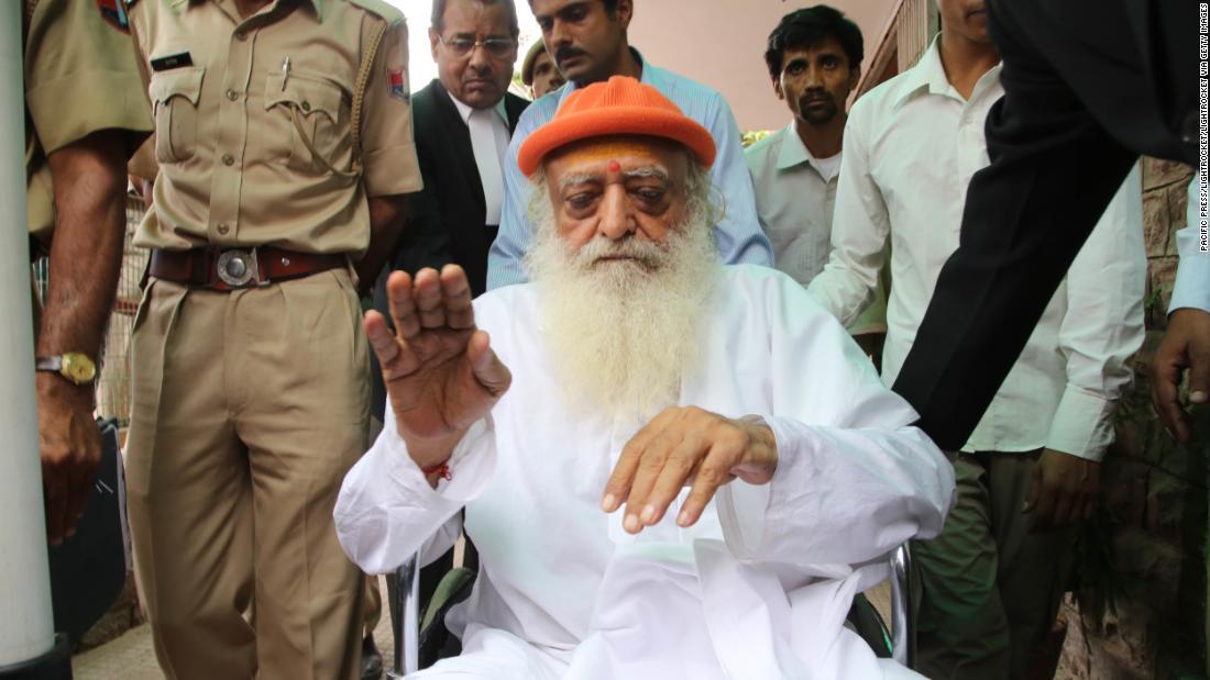 Indian guru Asaram Bapu found guilty of raping 16-year-old girl