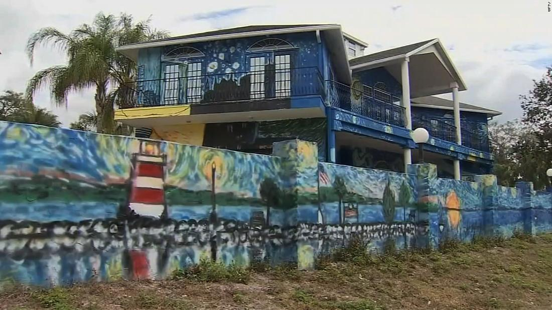 Painted House City In Florida
