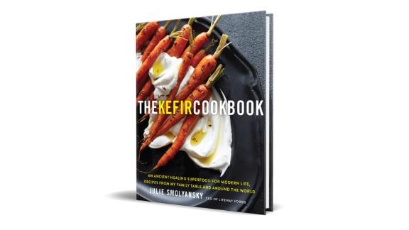 """""""The Kefir Cookbook: An Ancient Healing Superfood for Modern Life, Recipes from My Family Table and Around the World"""" by Julie Smolyansky ($21.28; amazon.com)"""