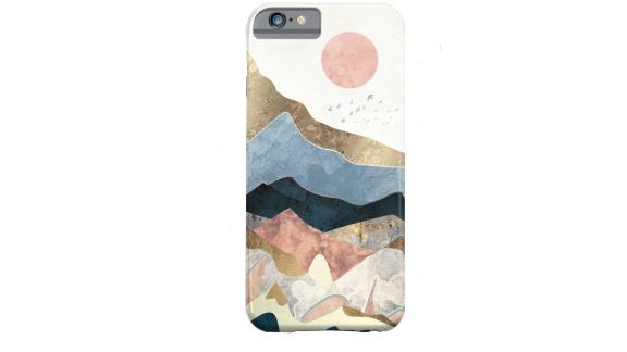 """<strong>Golden Peaks iPhone Case ($35.99; </strong><a href=""""http://www.anrdoezrs.net/links/8314883/type/dlg/sid/0518personalitymothersday/https://society6.com/product/golden-peaks936169_iphone-case?sku=s6-8297551p20a9v430a52v377"""" target=""""_blank"""" target=""""_blank""""><strong>society6.com</strong></a><strong>) </strong>"""