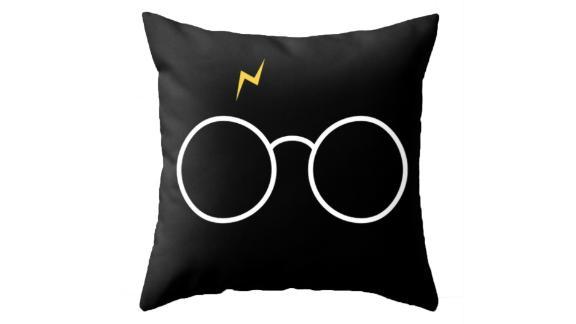 Potter Glasses Throw Pillow ($29.99; society6.com)