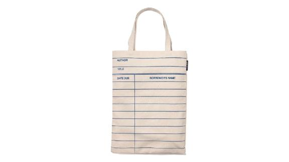 Out of Print Library Tote Bag ($20.99; amazon.com)