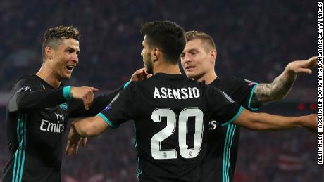 And Marco Asensio scored the winner early in the second half.